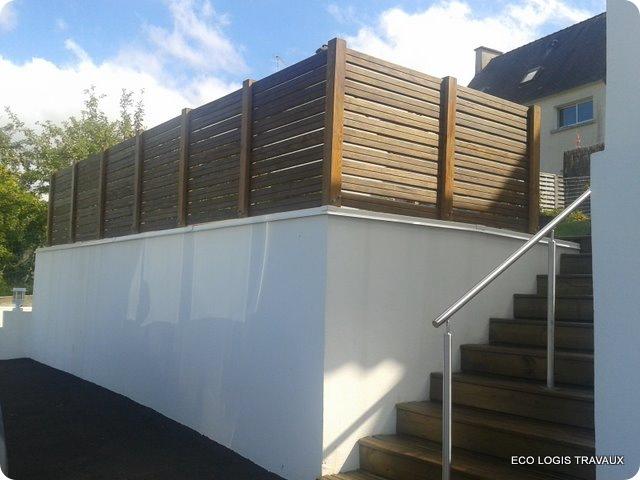 Comment protéger un mur de l'eau de pluie?