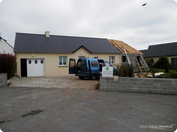 2 : l'extension de la maison